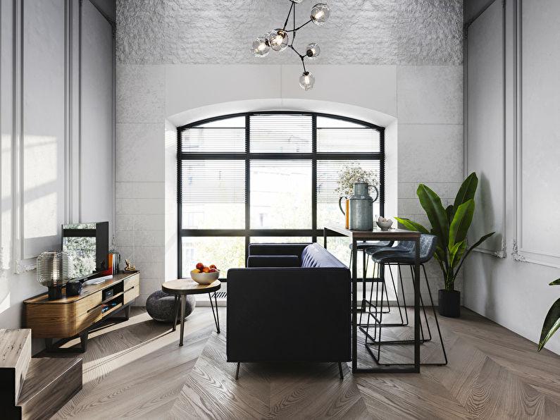 Projet de conception d'un appartement de 24 m2 - photo 2