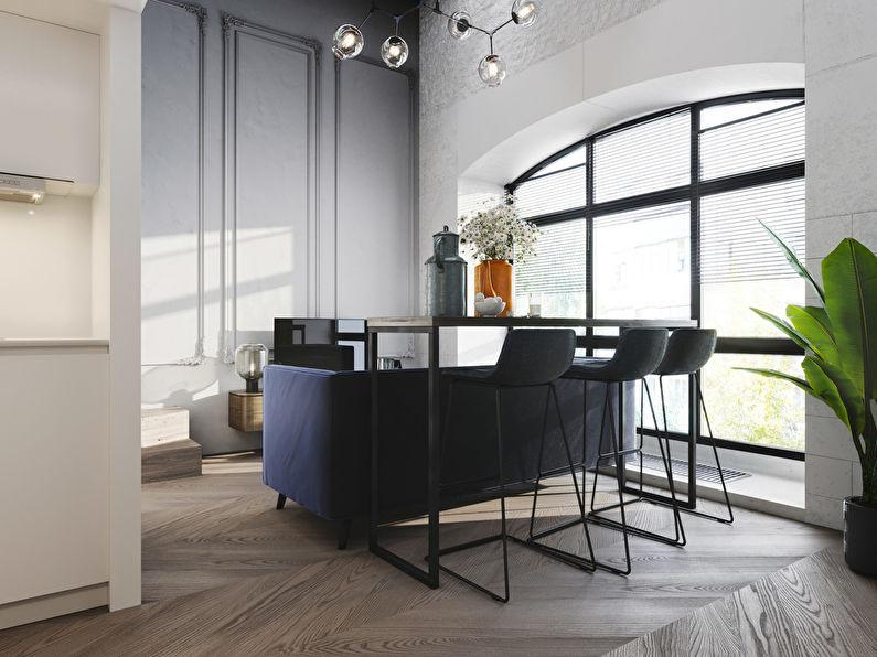 Projet de conception d'un appartement de 24 m2 - photo 3