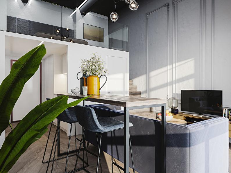 Projet de conception d'un appartement de 24 m2 - photo 4