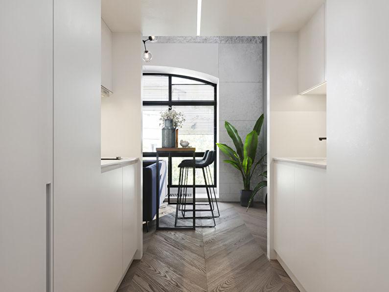 Projet de conception d'un appartement de 24 m2 - photo 9