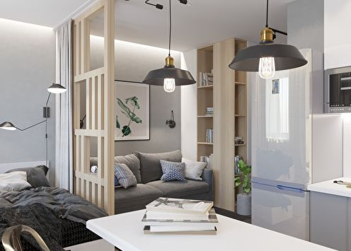 Atmosfera: Appartement 29 m2