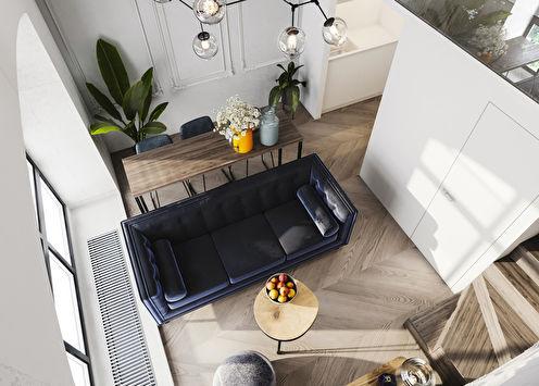 Projet de conception d'un appartement de 24 m2