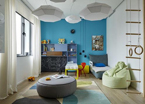 A Posteriori: Intérieur de la chambre des enfants
