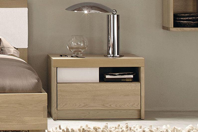 Tables de chevet en bois - Matériaux pour la fabrication