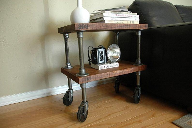 Comment choisir une table de chevet - Style Loft