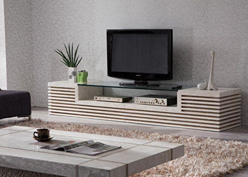 Meuble TV (65 photos): types et modèles