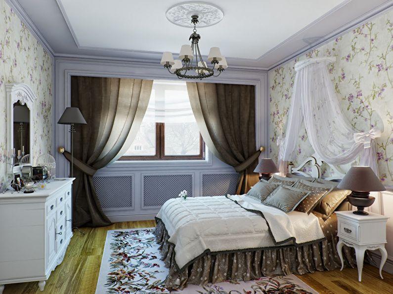 Conception d'une petite chambre de style provençal - photo