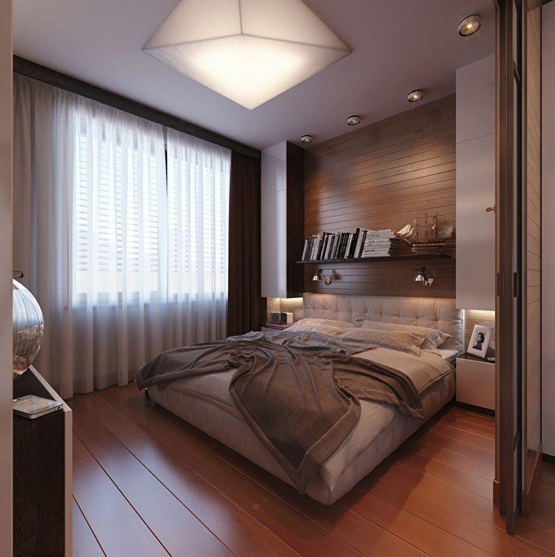 Conception de plafond dans une petite chambre - Photo