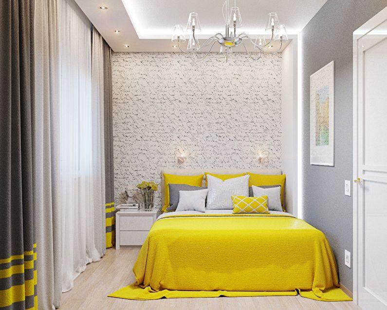 Conception d'une petite chambre de 5-6 m² - photo