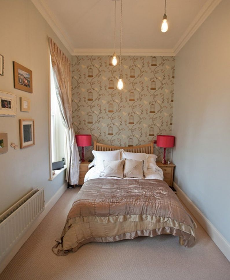 Conception d'une petite chambre de 7 à 8 m² - photo