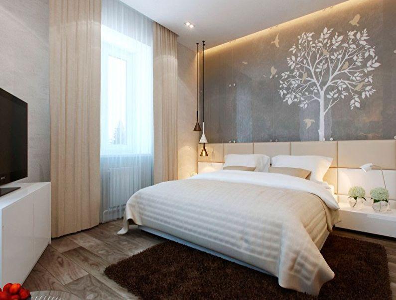 Conception d'une petite chambre de 9 m² - photo