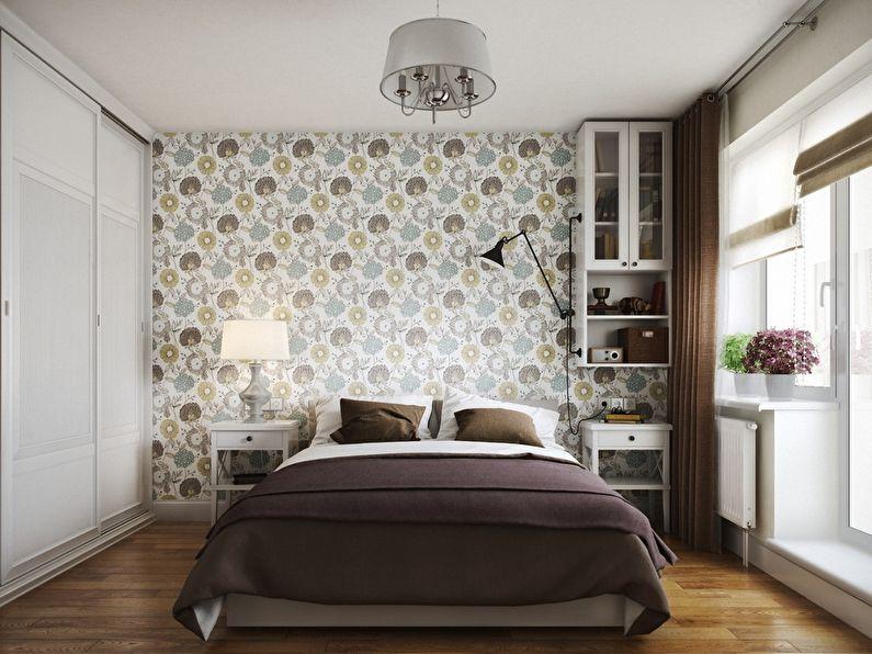 Conception d'une petite chambre de 10 à 11 m² - photo