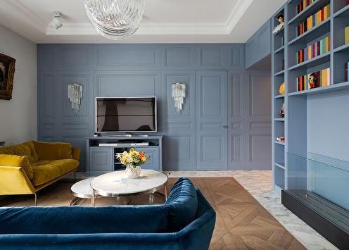 Appartement sur la rue Rochdelskaya, 120 m2