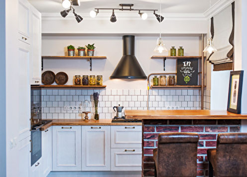 Idées d'aménagement d'une petite cuisine à Khrouchtchev (65 photos)