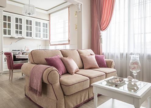 Paris souffle: un petit appartement dans le style provençal