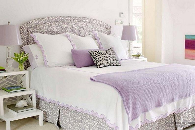 Couleur lilas à l'intérieur de la chambre - Photo design