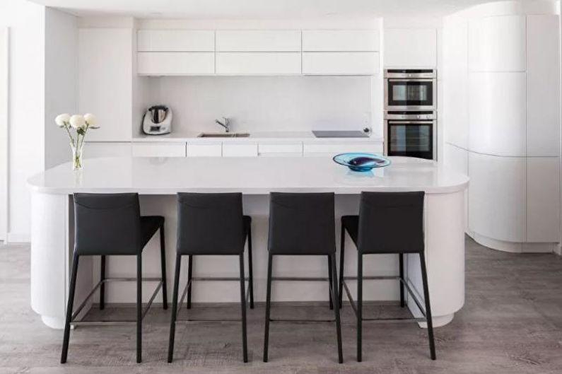Conception de cuisine 14 m² - Meubles