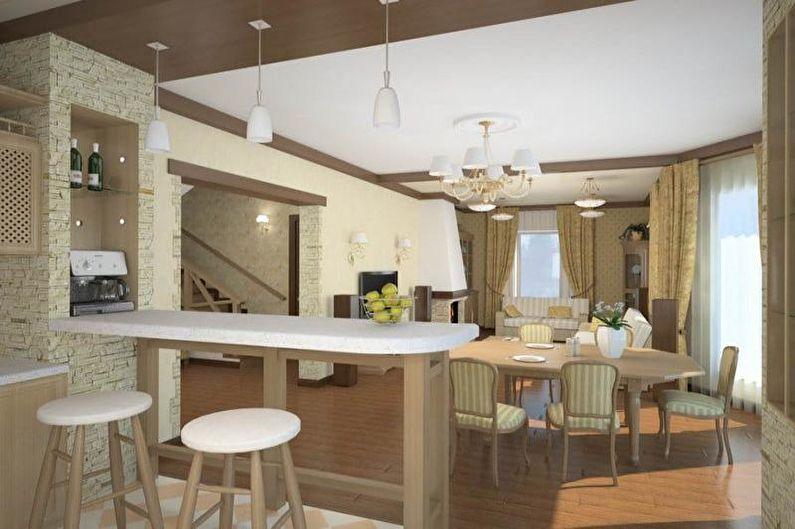 Conception de cuisine 14 m² - Éclairage