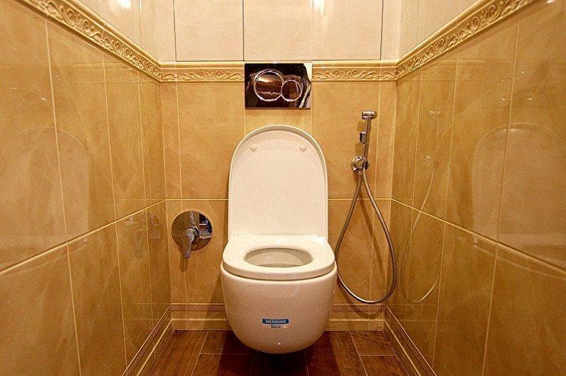 La conception des toilettes à Khrouchtchev - Où commencer la réparation
