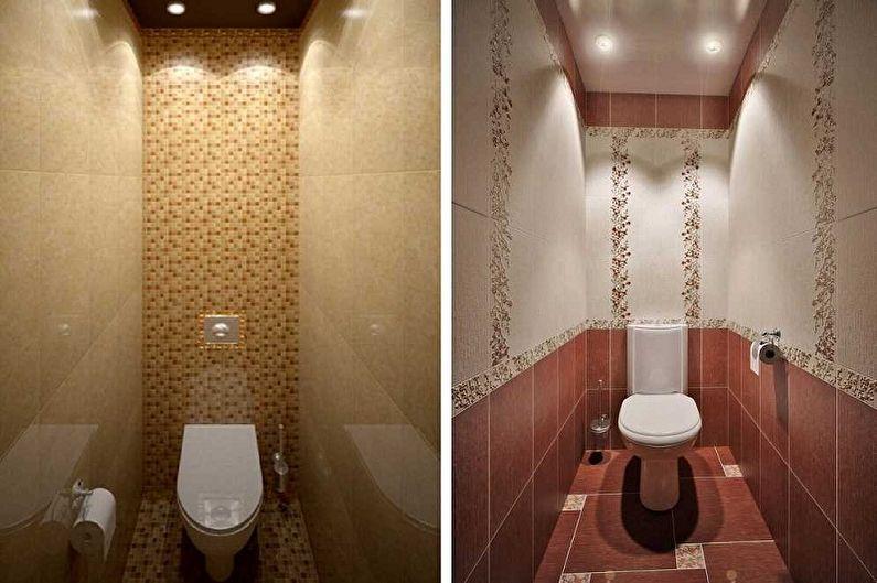 Conception des toilettes à Khrouchtchev - Couleurs