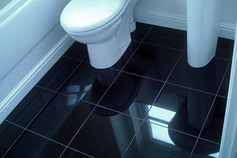 Conception des toilettes à Khrouchtchev - Décoration de sol