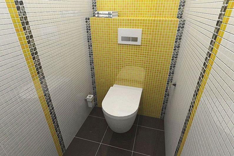 Conception d'une toilette à Khrouchtchev - Décoration murale