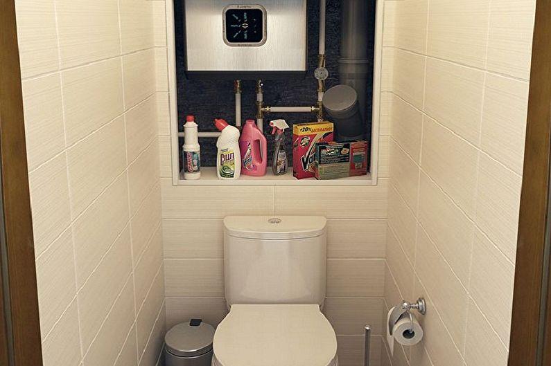 Conception de toilettes à Khrouchtchev - Plomberie et mobilier