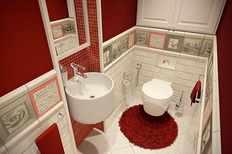 Conception des toilettes à Khrouchtchev - Éclairage et décoration