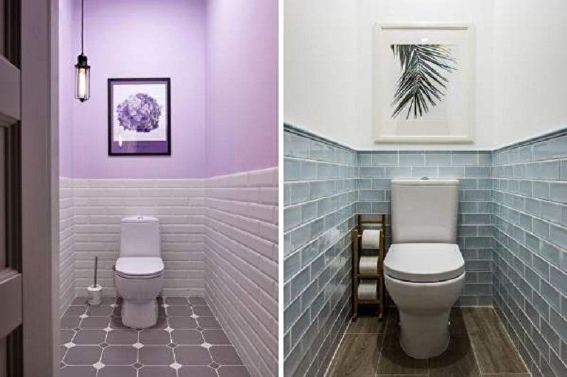 Toilettes Khrouchtchev de style rétro - Design d'intérieur