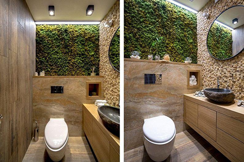 Toilettes éco-style à Khrouchtchev - Design d'intérieur