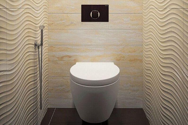 Aménagement intérieur des toilettes à Khrouchtchev - photo