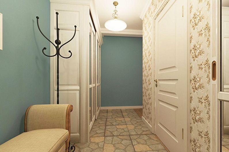 Conception de petit couloir - Fini à plancher