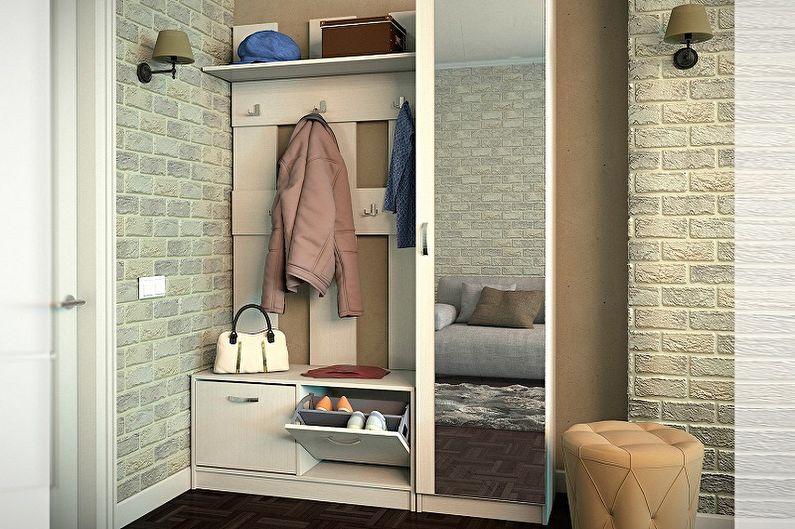 Conception de petits couloirs - Meubles