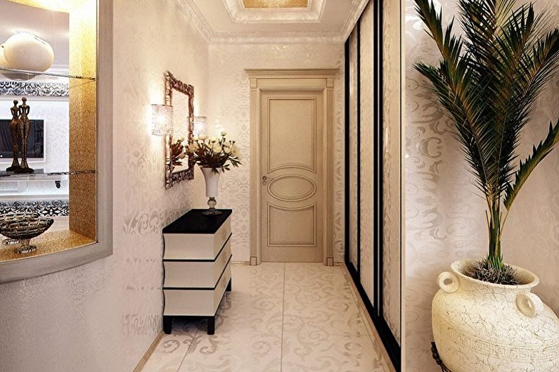 Aménagement intérieur d'un petit couloir - photo