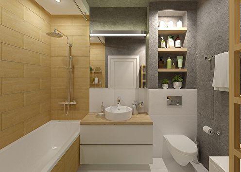 Design salle de bain 6 m2 (85 photos)