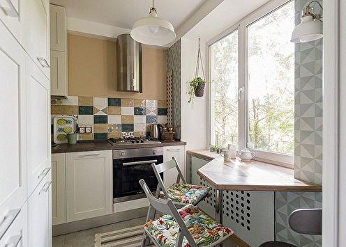 Conception de cuisine 4 m² (90+ photos)