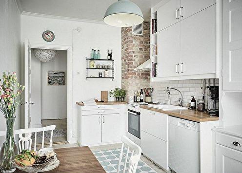 Conception d'une petite cuisine (100 photos)